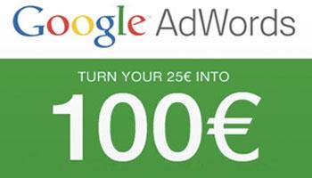 Προσφορά διαφήμισης Google Adwords